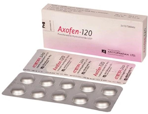 Axofen120 mg Tablet (Aristopharma Ltd)