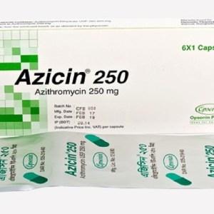 Azicin-250 mg Capsule(Opsonin)