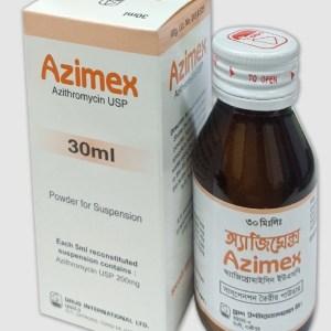 Azimex Powder for Suspension 30 ml (Drug International Ltd)