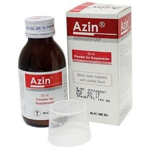 Azin powder for suspension 50 ml (ACME Laboratories Ltd)