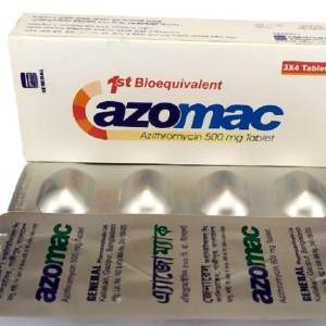 Azomac 500 mg Tablet (General Pharmaceuticals)