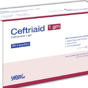 Ceftriaid -IM Injection 1 gm Labaid Pharma Ltd