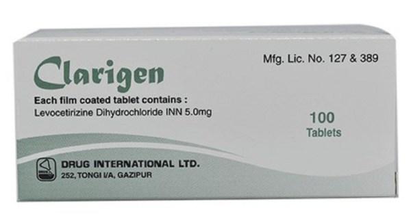 Clarigen 5mg Tablet (Drug International Ltd)