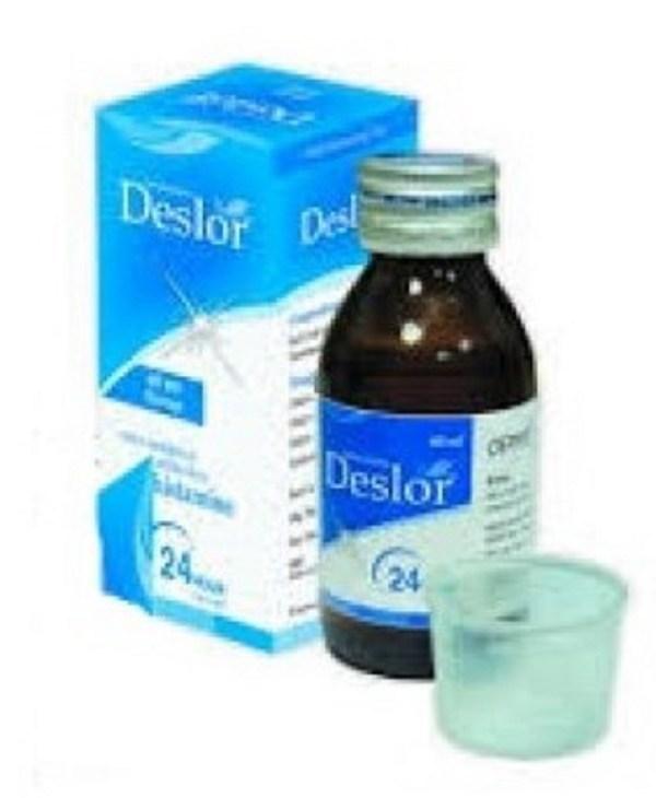 Deslor Syrup 60 ml (Orion Pharma Ltd)
