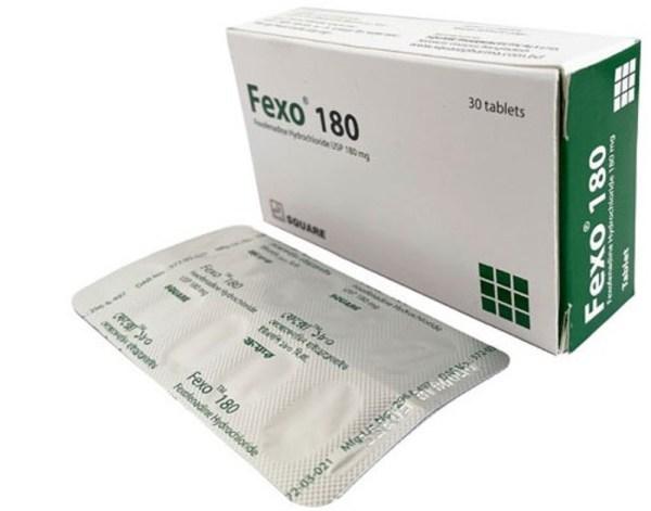 Fexo tablet 180 MG (Square Pharmaceuticals Ltd)