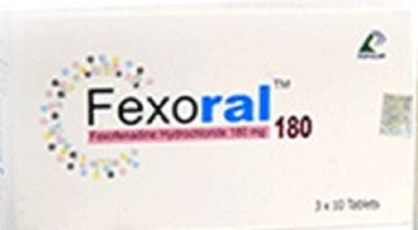 Fexoral 180 mg Tablet (Popular Pharmaceuticals Ltd)