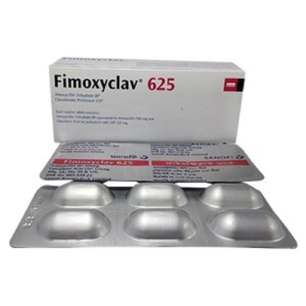 Fimoxyclav-625-Sanofi Bangladesh Ltd-Tablet
