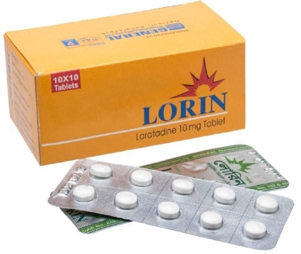 Lorin 10 mg Tablet (General Pharmaceuticals Ltd)