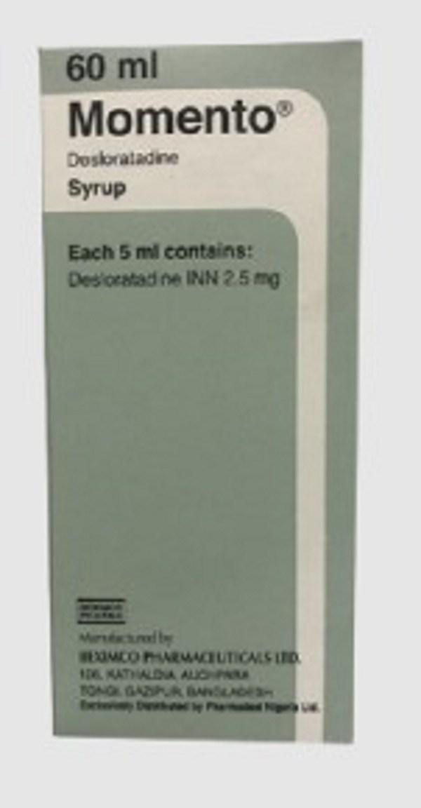 Momento Syrup 60 ml (Beximco Pharmaceuticals Ltd)