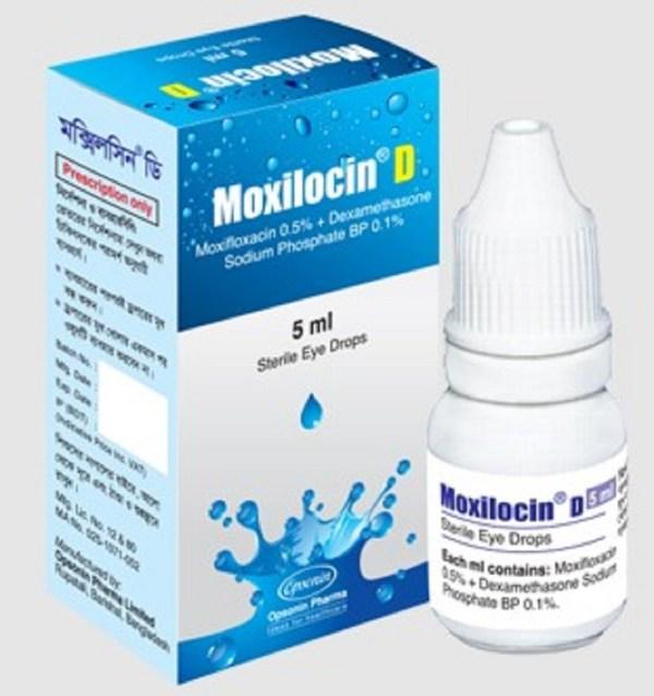 MoxilocinOpthalmic Solution 5% - 5ml (Opsonin Pharma Ltd)