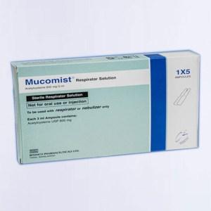 Mucomist-Nebulizer Solution (600 mg/3 ml) - Beximco