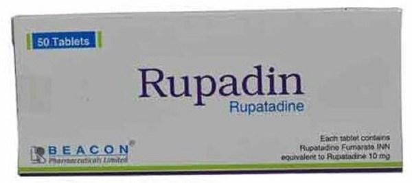 Rupadin 10 mg Tablet(Beacon Pharmaceuticals Ltd)