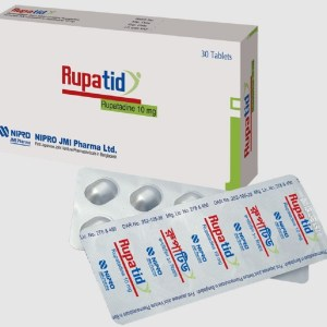 Rupatid 10 mg Tablet(NIPRO JMI Pharma Ltd)