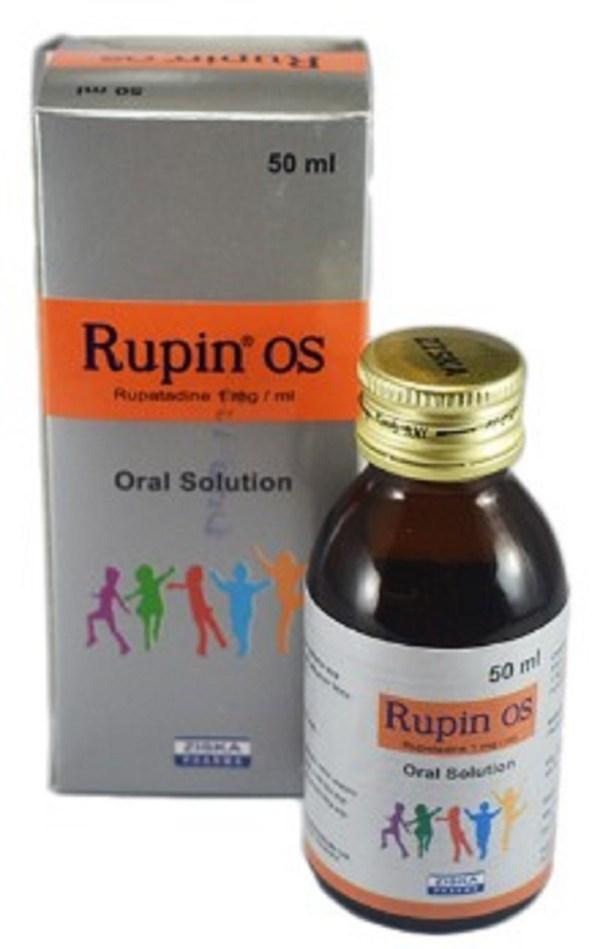Rupin Oral Solution 60 ml(ZIska Pharmaceuticals Ltd)