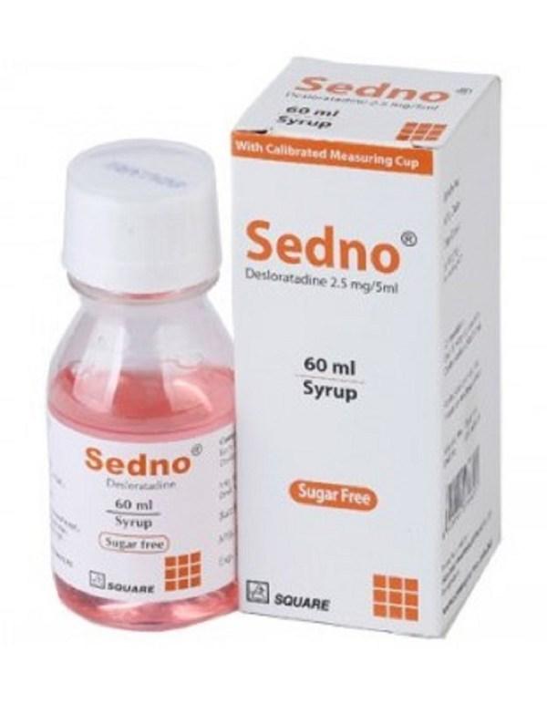 SednoSyrup 2.5 mg 5 ml - 60 ml(Square Pharmaceuticals Ltd)