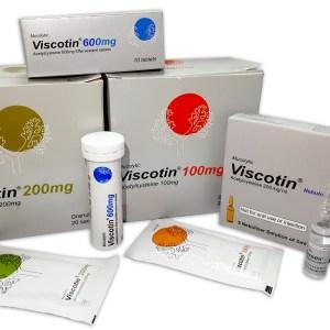 Viscotin 600 mg tablet