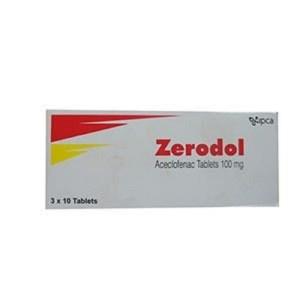 Zerodol- 100 mg tablet- navana pharma