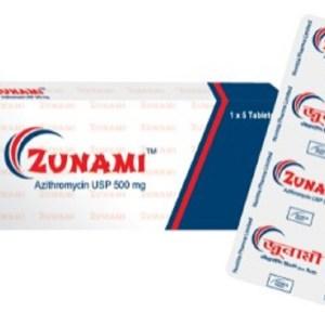 ZunamiTablet 500mg (Nuvista Pharma Ltd)