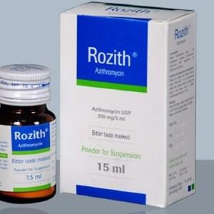 rozith Powder for Suspension 15 ml Healthcare Pharmacuticals Ltd