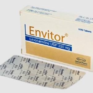Envitor- 330 mgTablet (Opsonin Pharma Ltd)