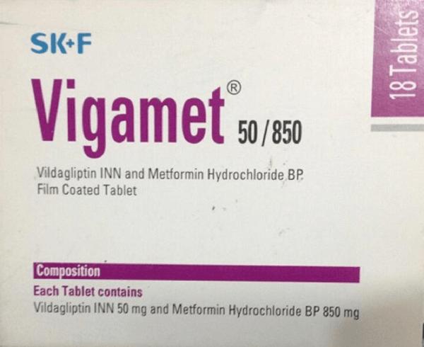 Vigamet 50+850 mg Tablet (Eskayef Bangladesh Ltd)