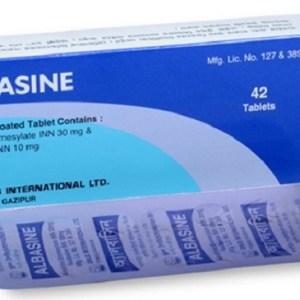 Albasine - 30 mg+10 mg Tablet( Drug )