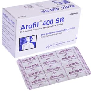 Arofil SR- Tablet 400 mg incepta pharma