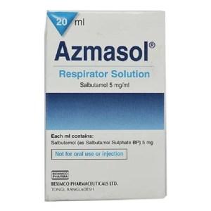 Azmasol - Respirator Solution 20 ml( Beximco )