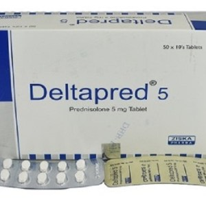 Deltapred - 5 mg Tablet( ZIska )