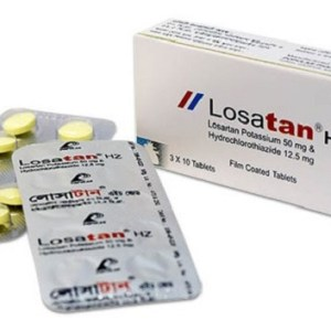 Losatan HZ-50 mg+12.5 mg Tablet (Popular Pharmaceuticals Ltd)
