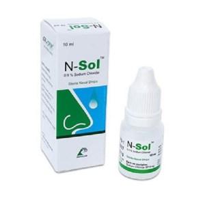 N-Sol - Nasal Drop 10 ml drop( Popular )