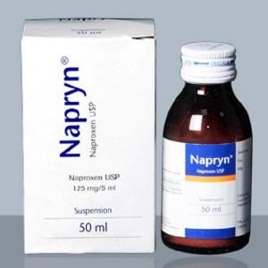 Napryn- Oral Suspension 50 ml bottle(Healthcare Pharmacuticals Ltd)