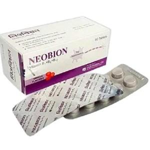 Neobion -Tablet 100 mg+200 mg+200 mcg ( Aristopharma )