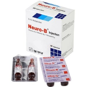 Neuro-B - IM Injection 3 ml ampoule( Square )