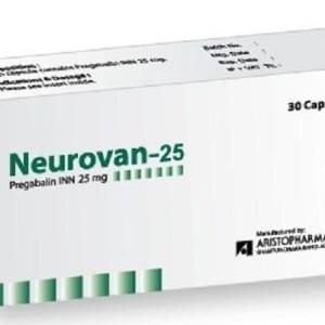 Neurovan - 25 mg Capsule ( Aristopharma )