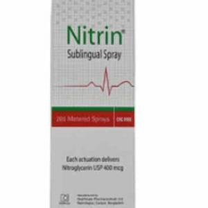 Nitrin - Spray 200 metered Healthcare