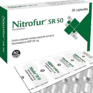 Nitrofur SR- Capsule 50 mg Aci