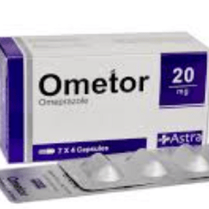OmetorCapsule 20 mg Astra Biopharmaceuticals Ltd