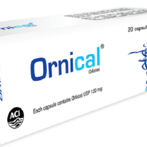 Ornical- Capsule 120 mg Aci