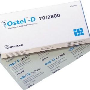 Ostel™-D - 70 mg+2800 IU Tablet( Square )