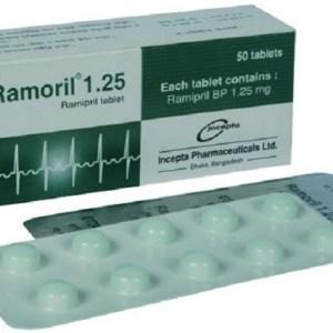 Ramoril - 1.25 mg Tablet( Incepta )
