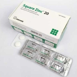 Square Zinc - Orally Dispersible Tablet 20 mg ( Square )