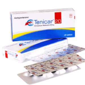 Tenicar tablet 20 mg Unimed Unihealth MFG. Ltd