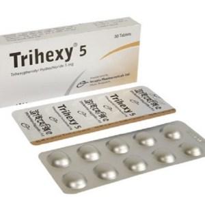 Trihexy - 5 mg Tablet( Incepta )