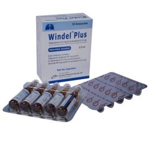 Windel Plus- Nebuliser Solution 2.5 ml ampoule( Incepta )