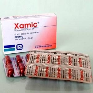 Xamic - 500 mg Capsule ( Renata )
