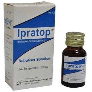 Ipratop- Nebuliser Solution 250 mcg-ml - 20ml bottle( Incepta )