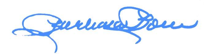 Barbara Boren signature