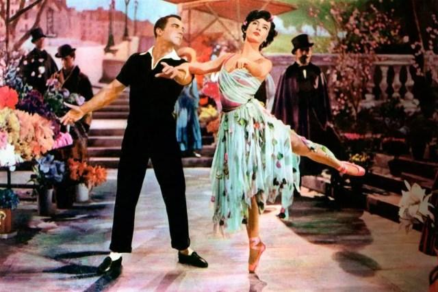"Dance scene from ""Americans in Paris."""