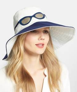 Kate Spade Canvas Hat